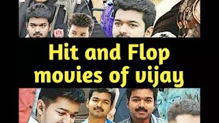 Hit and Flop movies of Vijay (1992 - 2017)