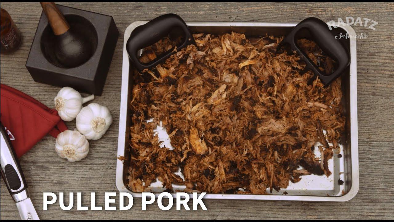 Schnelles Pulled Pork Vom Gasgrill : Smoken für anfänger pulled pork burger lachs spieße edeka
