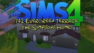 The Simpsons Home! | The Sims 4 Speed Build