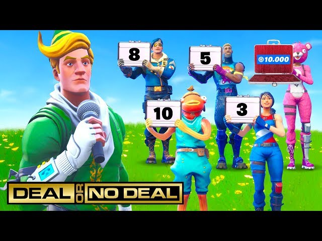 Fortnite DEAL or NO DEAL!