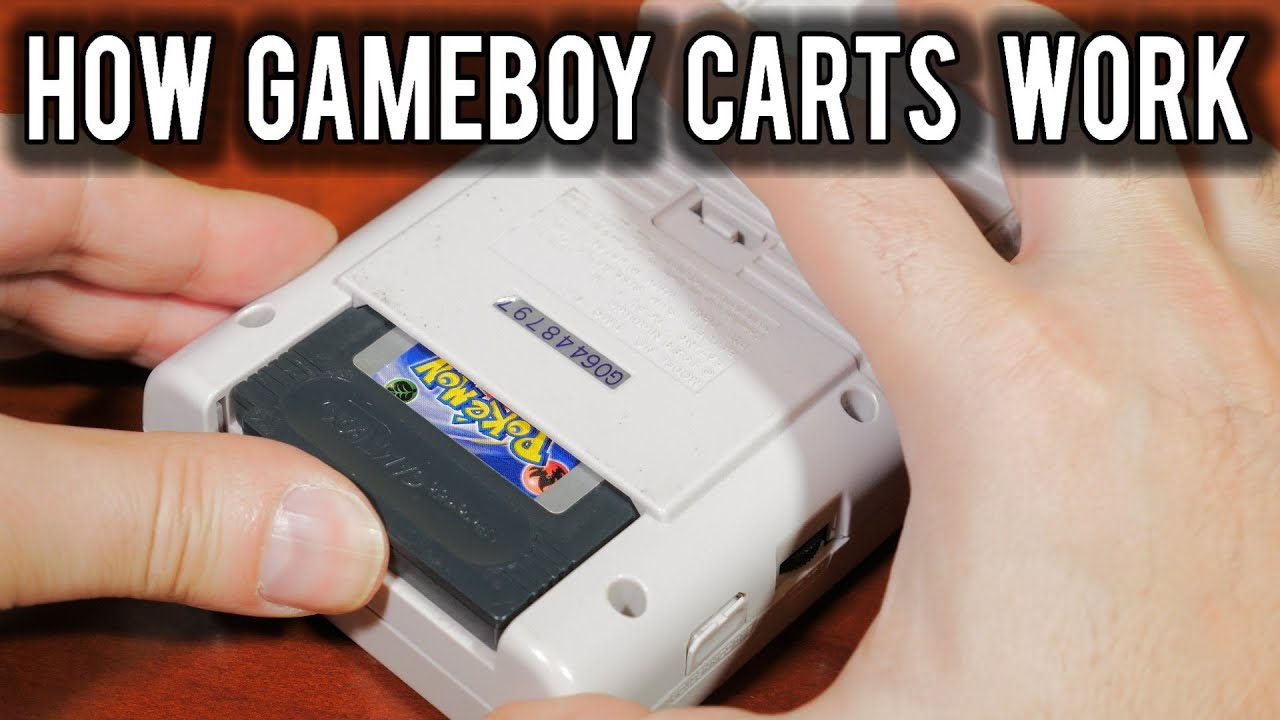 How Cartridges worked on the Nintendo Game Boy | MVG