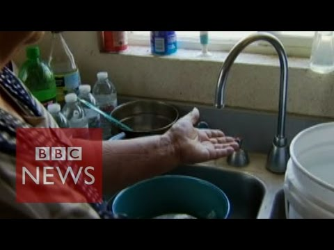 Taps run dry in California's Central Valley - BBC News