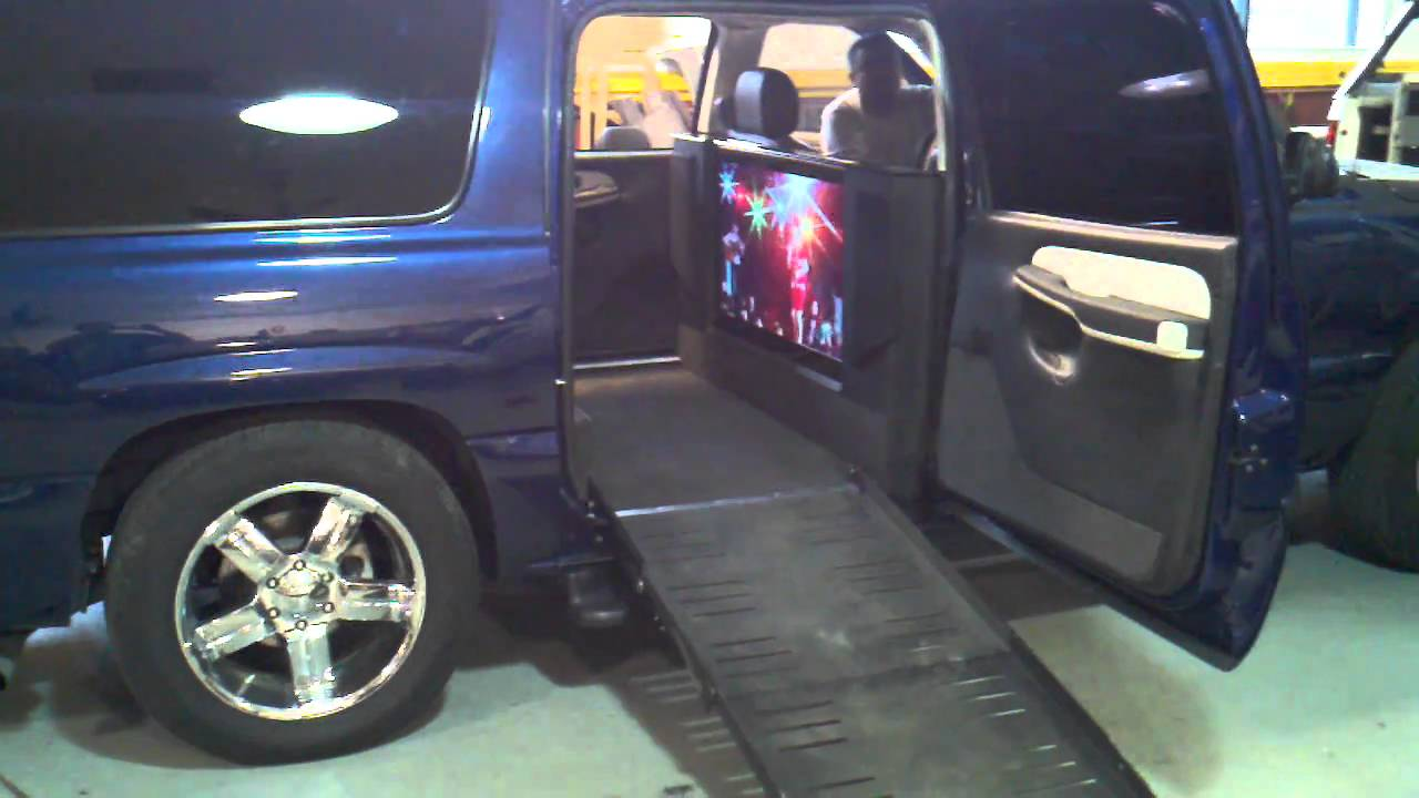 Luxury handicapped conversion youtube for Handicap wheelchair