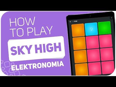 How to play: SKY HIGH (Elektronomia) - SUPER PADS - Kit STONE