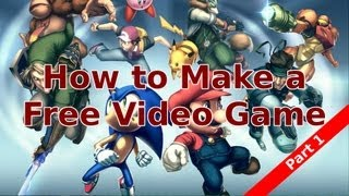 How to Make a Free Video Game