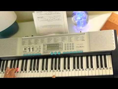 How to Play ~ Forgot About Dre ~ Dr. Dre ft. Eminem ~ LetterNotePlayer ©