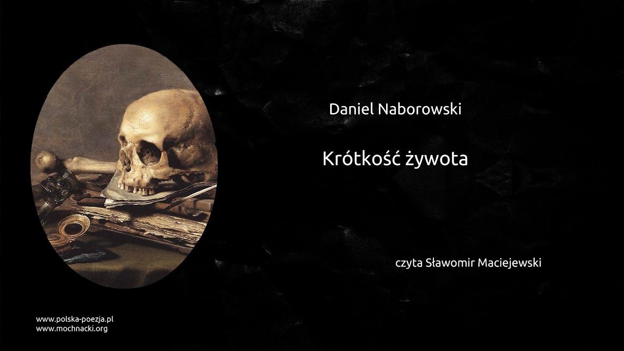 Daniel Naborowski Krótkość żywota