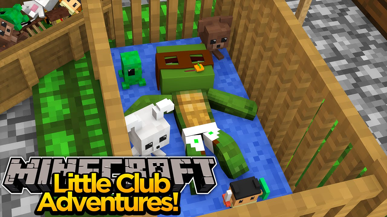 Minecraft Little Club Adventures Tiny Turtle Turns Into