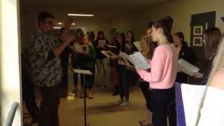 Bella Voce Practice in the Glass Hallway Thumbnail