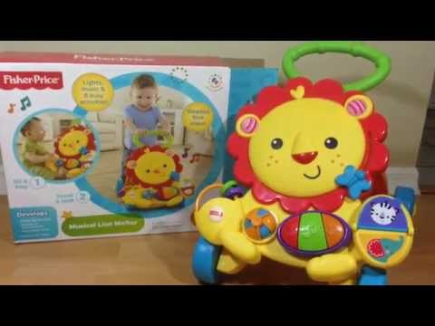 Musical Lion Walker by Fisher Price - Toy Review