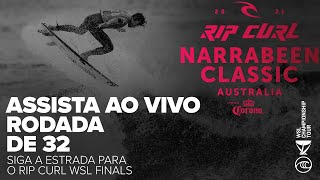ASSITA AO VIVO EM PORTUGUÊS The Rip Curl Narrabeen Classic presented by Corona RODADA DE 32