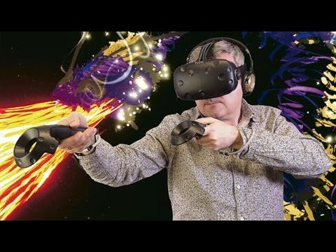 How to Paint in Virtual Reality With HTC Vive