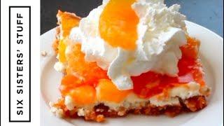Mandarin Orange Pretzel Salad | Six Sisters Stuff