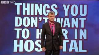 things you don t want to hear in hospital mock the week series 9 episode 1 preview bbc two