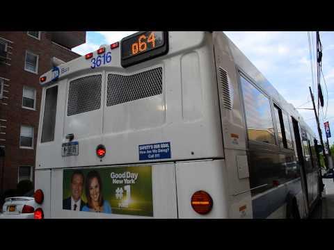 MTA Bus Company 2007 Orion VII Hybrid 3616 On The Q64 @ Jewel Avenue & 108th Street