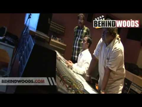 Making of 'AMMADI AMMADI' song in Desingu Raja.