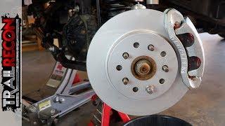 Jeep Wrangler Big Brake Install - Is It Worth It?
