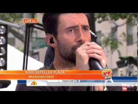 Love Somebody - Maroon 5 - The Today Show 06/14/2013