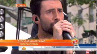 Love Somebody Maroon 5 The Today Show 06 14 2013
