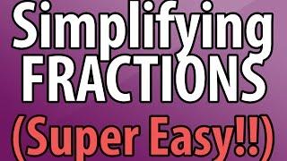 Simplifying Fractions - Tнe Easy Way!