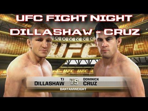 UFC Fight Night - DILLASHAW vs CRUZ FIGHT PREDICTION [EA Sports UFC Simulation] [Gameplay]
