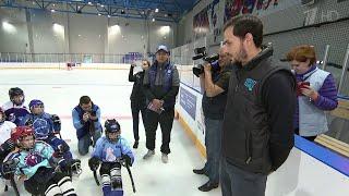 Уникальная хоккейная смена стартовала в Международном спортивном лагере в Ярославле.
