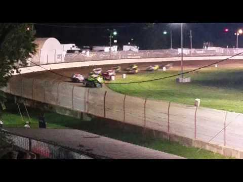 Tim Sheppard part 2 at dodge county fair grounds feature race 7/30/2016