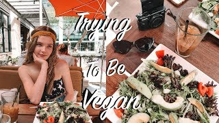 Trying to be Vegan for a Day...