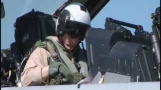 Jugs Lights Up His F-18 Super Hornet