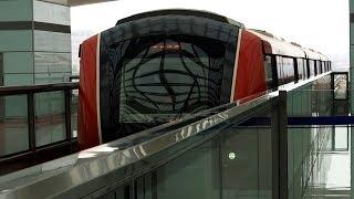 2019/07/19 北京地下鉄 機場線 QKZ5型 3号航站楼駅 | Beijing Subway Airport Express at Terminal 3
