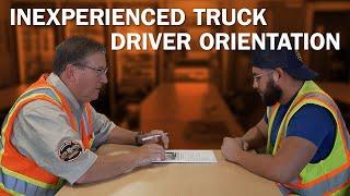 Schneider inexperienced orientation for truck drivers