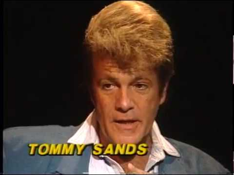 Tommy Sands--Rare TV Interview, Elvis Presley, Nancy Sinatra