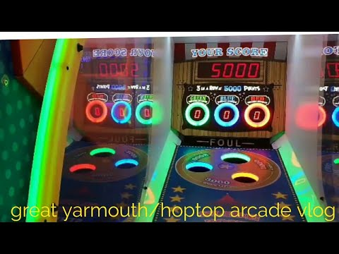 Great yarmouth and hopton arcade vlog February 17th 2018