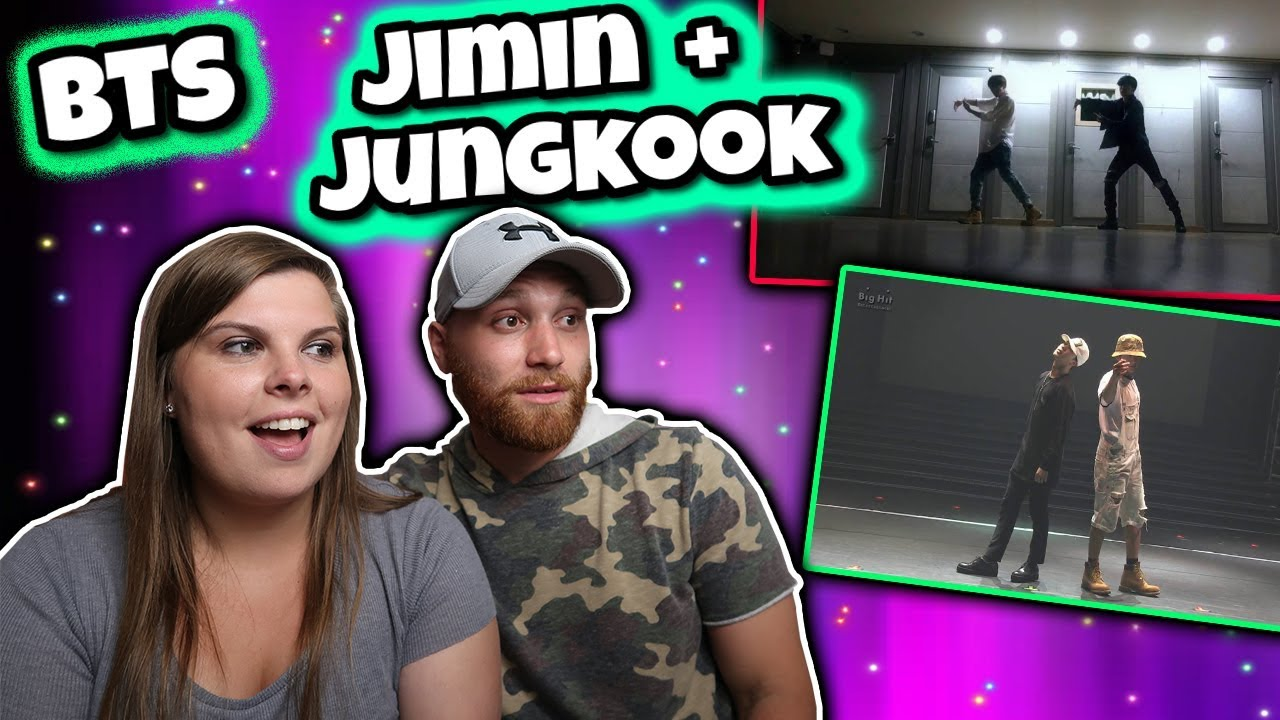 BTS Jimin & Jungkook 'Own It' & 'Coming of Age Ceremony' Dance Practice  REACTION