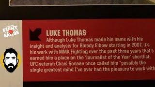 My Response to Chael Sonnen   SiriusXM   Luke Thomas