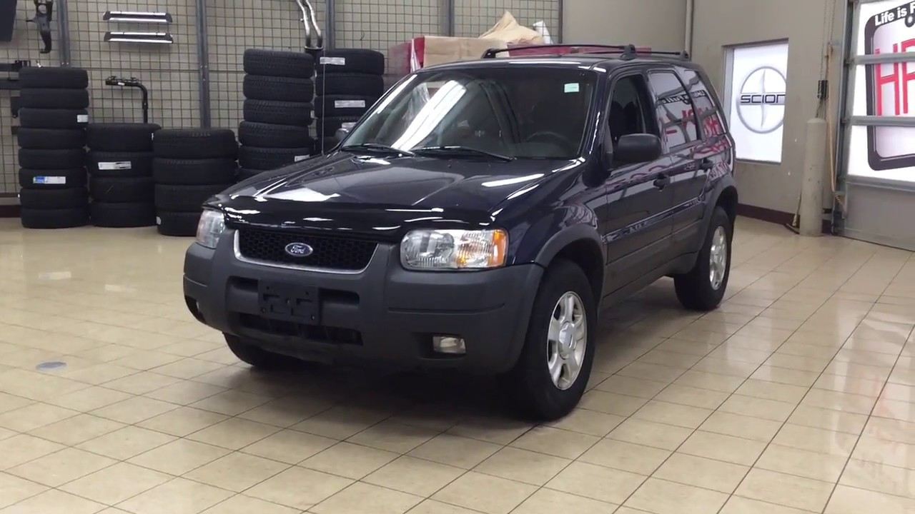 2003 Ford Escape Xlt Review