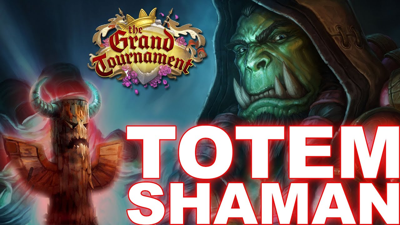 HearthStone TGT Totem Shaman Deck - YouTube