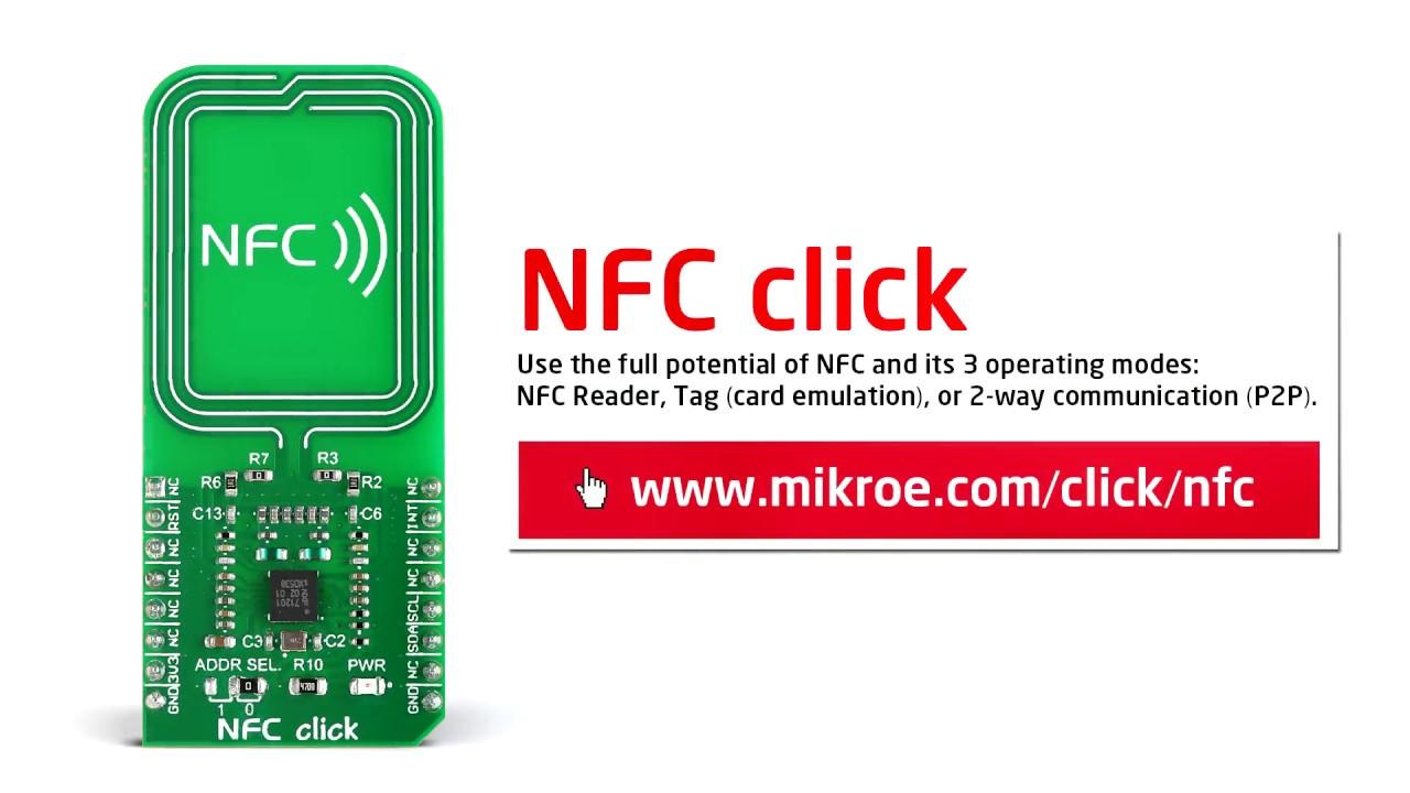 NFC click | MikroElektronika