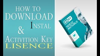 How to Download Instal & Activate Eset Nod32 Antivirus Life License - ESET NOD32 FOR FREE 2018,19,20