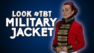 Look #TBT | Military Jacket w/ Kandee Johnson