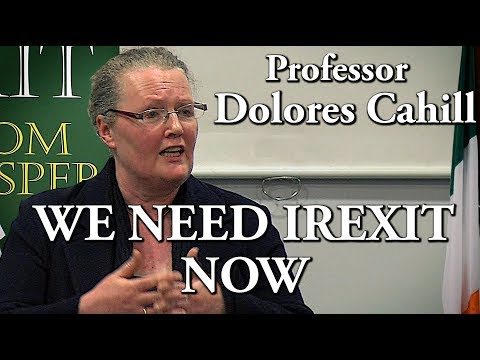 Professor Dolores Cahill speaks at Irexit Cork 16-02-2019