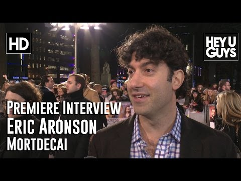 Screenwriter Eric Aronson Interview - Mortdecai UK Premiere