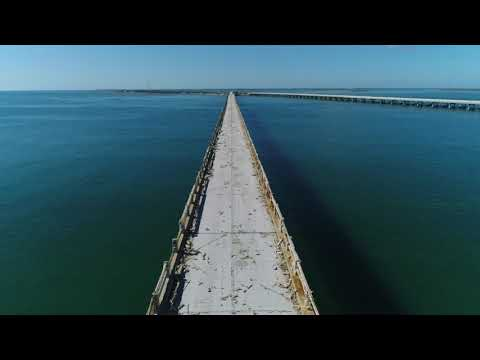 Fly Over Old Overseas Highway Florida Keys