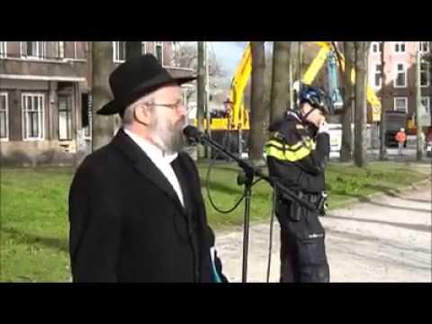 Toespraak Rabbijn Heintz in Den Haag tegen labeling en boycott of Israel