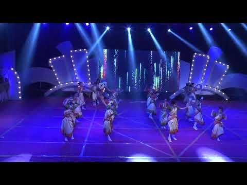 Assam deser chai ka bagane || BIHU FOK Dance || R.P.S School NNl 1st Annual Fun. || KING DANCE CREW