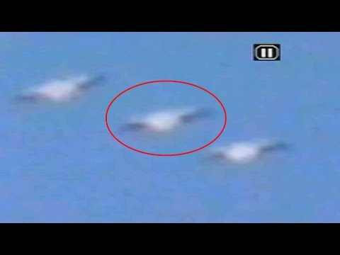 The Best UFO Sighting In The United States 2017, ¿Real UFOs Or Birds?