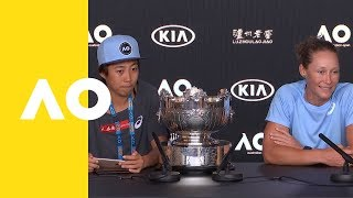 Stosur/Zhang press conference (F) | Australian Open 2019