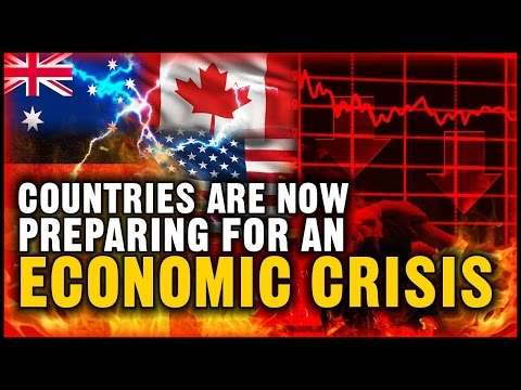 "Australia,Canada,USA,Germany Are Now Preparing For An ""Economic Crisis"" in October 2016 (NEW)"