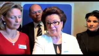 Christine Boutin lance sa campagne aux européennes