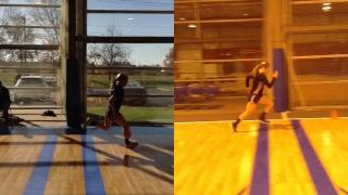 Columbus Ohio Speed Training - Lacrosse Athlete Getting Faster